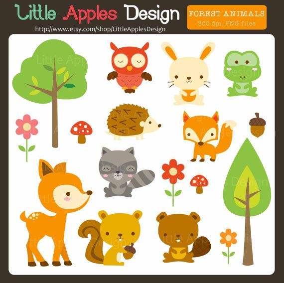 little forest animals