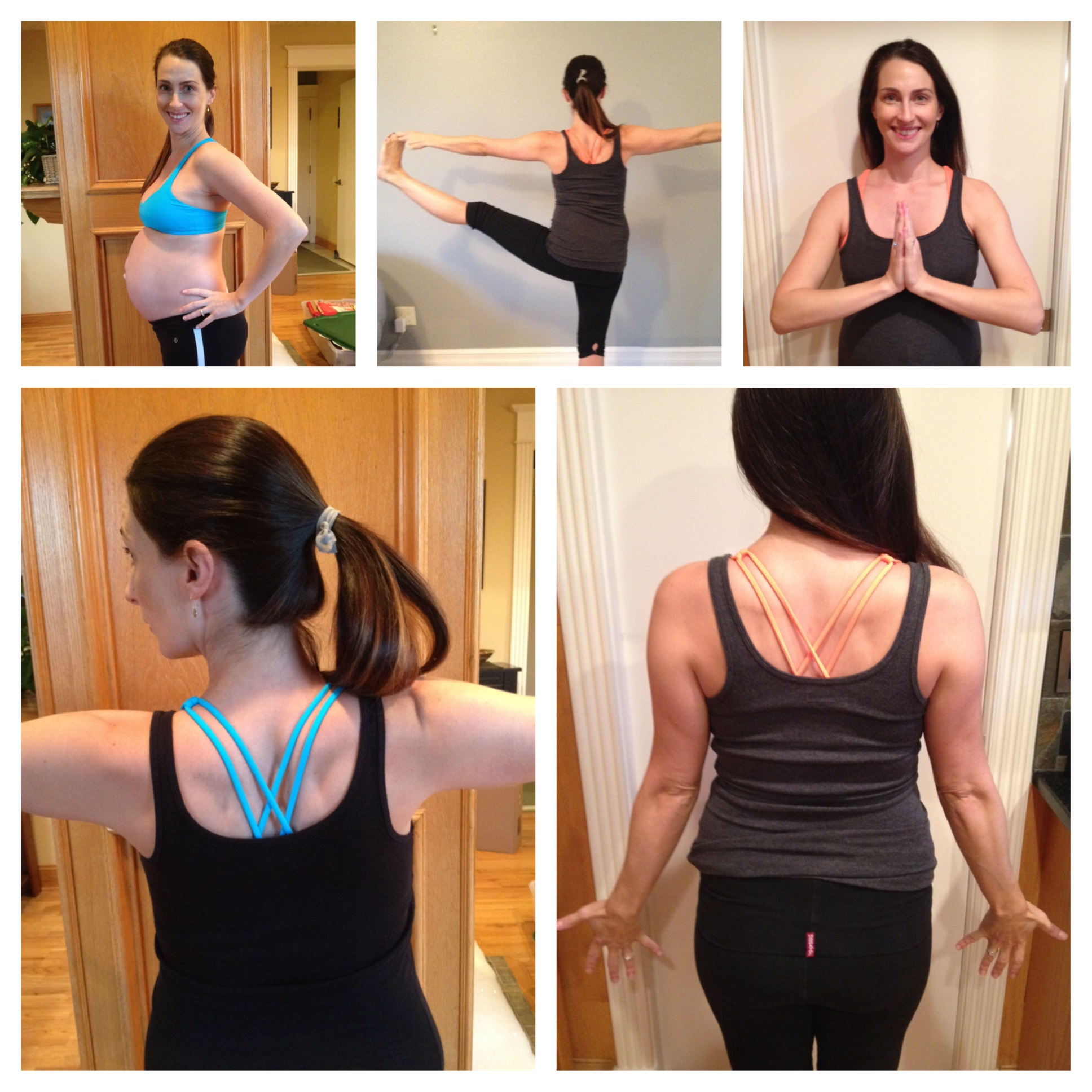 Yoga and Workout Gear for Belly Time…and Before and After!