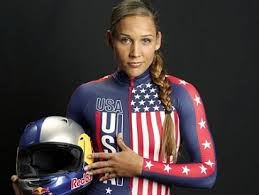 Lolo Jones - USA Women's Bobsled Team, 1 of only 10 Americans to ever compete in both the Summer and Winter Olympics.