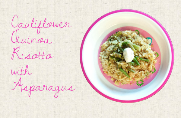 Cauliflower Quinoa Risotto