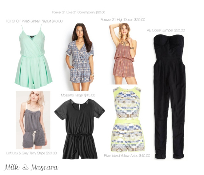 Summer Rompers