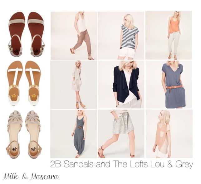 The Loft + 2B Sandals