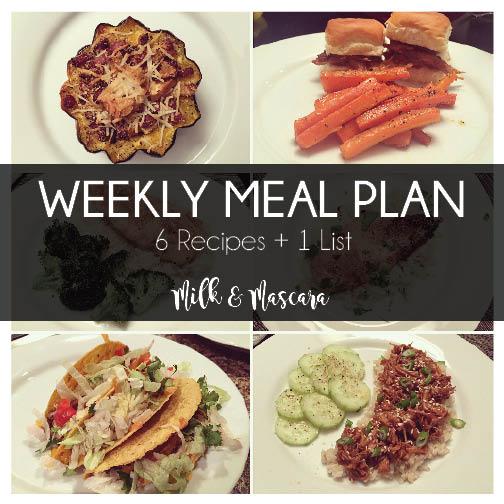 Weekly Meal Plan 4