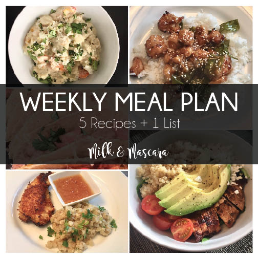 Weekly Meal Plan 7