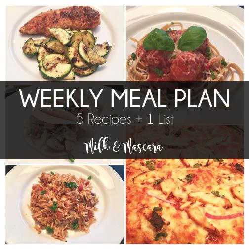 Weekly Meal Plan 9