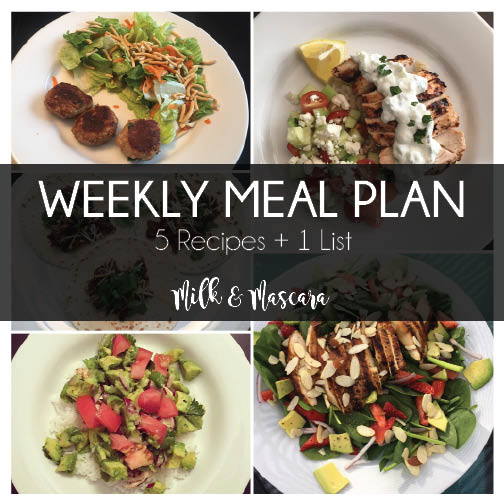 Weekly Meal Plan 13