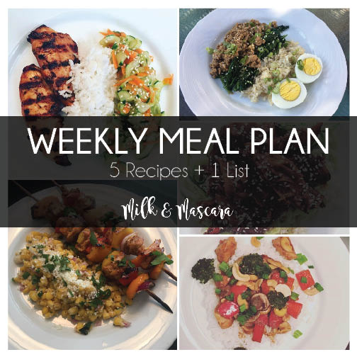 Weekly Meal Plan 14